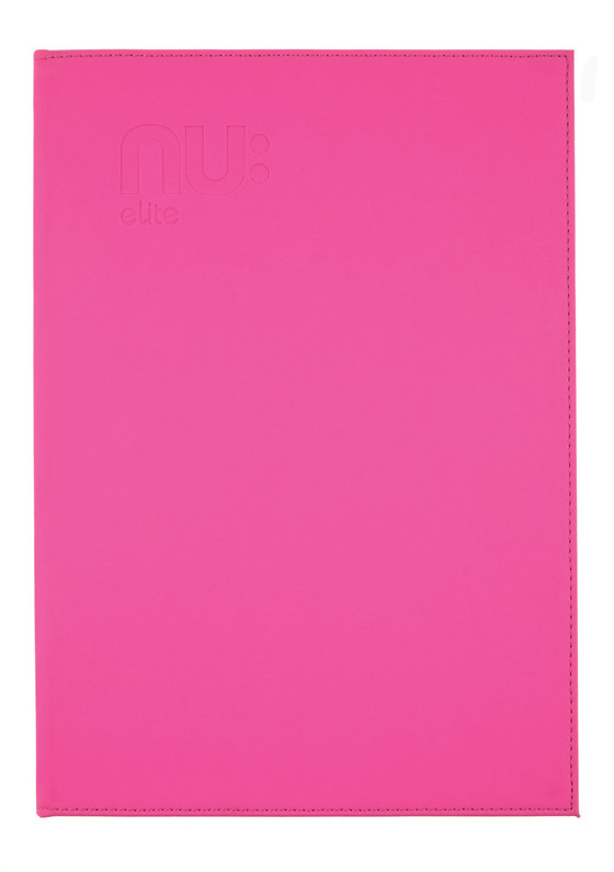 Nu Elite PU Casebound Journal Pink