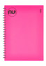 Nu Elite Pink PP Notebook
