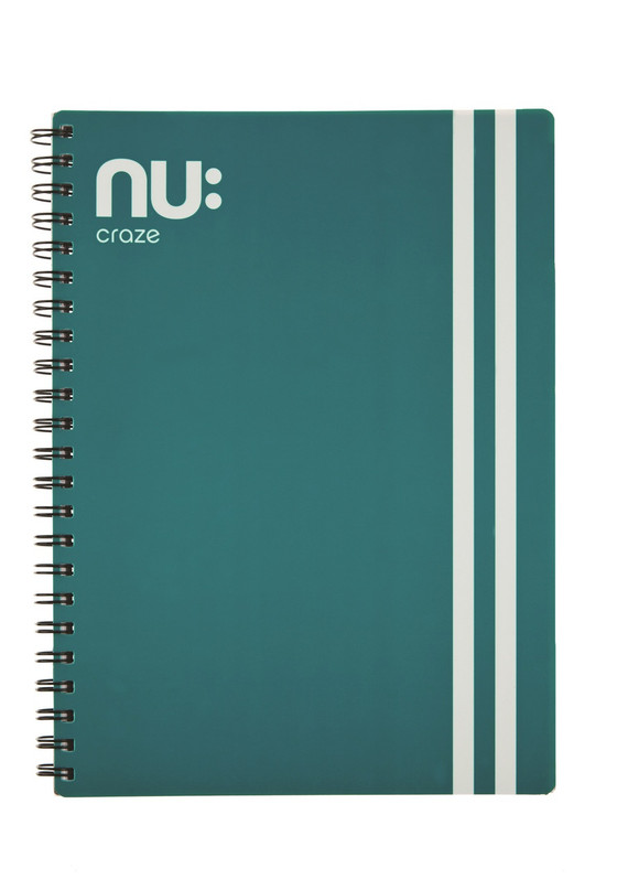 Nu Craze Varsity PP Wiro Notebook Green
