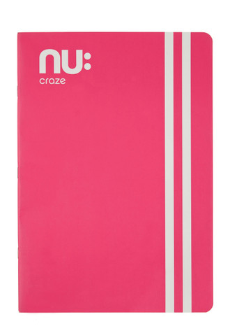 Nu Craze Varsity A4 Flexi Notebook