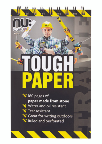 Nu Stone Paper Reporters Notebook