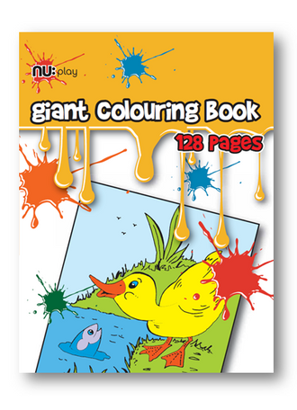 Nu Play Giant Colouring Book