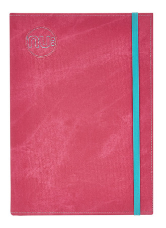 Nu Era Denim Casebound Notebook - Pink