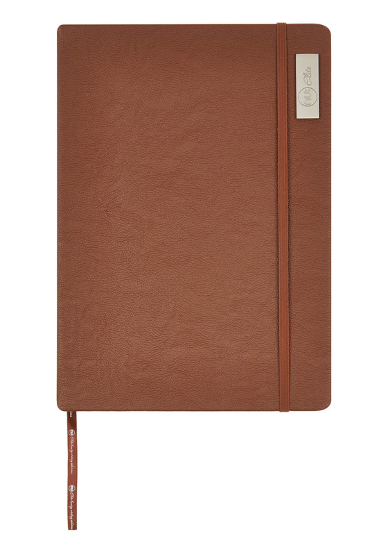 Nu Elite Prestige Tan PU Casebound Journal