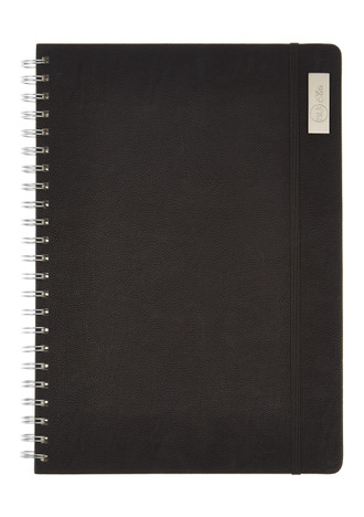 Nu Elite Prestige Black PU Wiro Journal