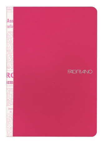 Fabriano Soft Cover Printed Spine Notebook