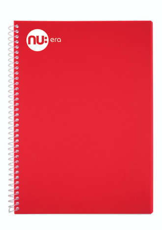 Nu Era Bright Red Notebook