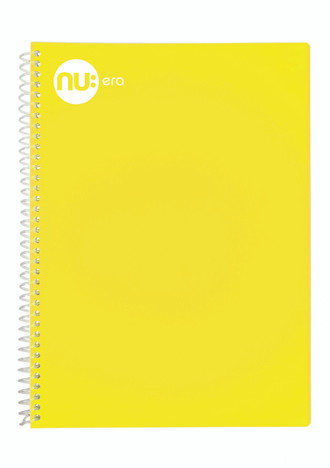 Nu Era Pastel Notebook Yellow