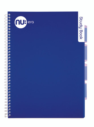 Nu Era Bright Study Book Blue