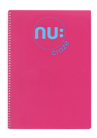 Nu Craze Laser Notebook Pink