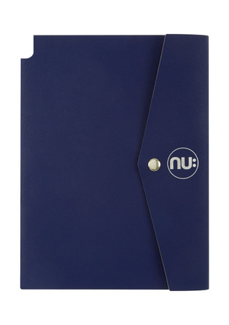 Nu: Saffiano Journal - Navy