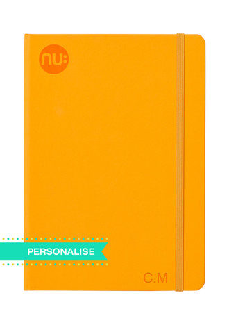 Nu: Spectrum Journal - Orange (Personalise)