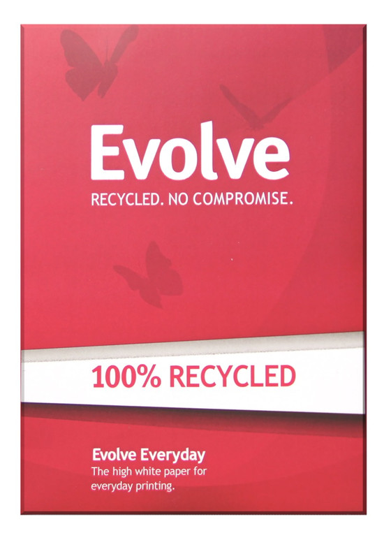 Evolve British Recycled Copier Paper