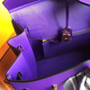 Hermès Birkin 35 cm Purple Epsom Leather Gold Hardware