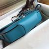 Hermes Cherche-Midi 25 Turquoise
