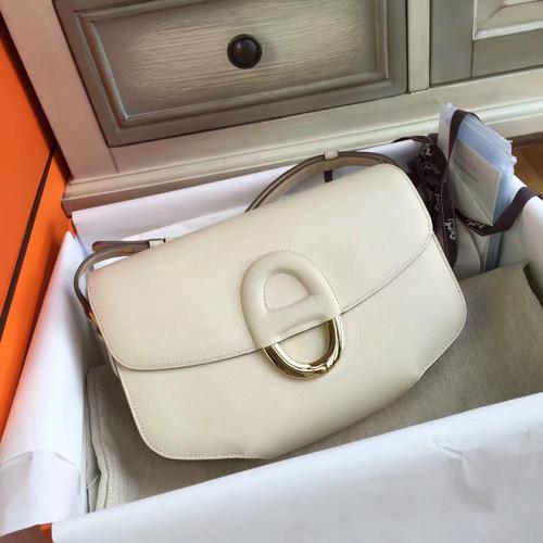 Hermes Cherche-Midi 25 White