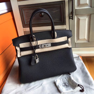 Hermès Birkin 30 cm Togo Leather Palladium Hardware