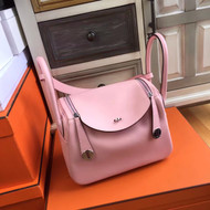 Hermes Lindy 26 Sakura Pink Swift Palladium HW