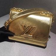 Louis Vuitton Gold Epi Twist Bag 2015 collection