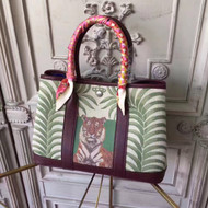Hermes Leather Garden Party Small Bag by Bella Vita Moda Personalization