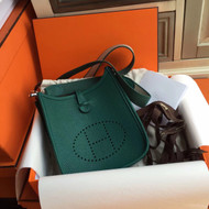 Hermès Evelyne Mini Bag TPM Dark Green