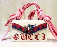 Gucci 2018 Osiride leather top handle bag