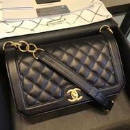 Chanel Flap Bag Black A91576