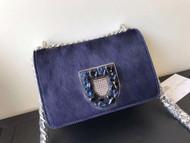 Christian Dior Diorama Club bag with horse hair VIP Exclusive edition