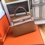 Hermes Gold Kelly 28 cm Togo Gold Hardware
