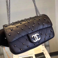 Chanel Flap Bag with studs F/W 2017