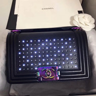 Chanel Small Black Boy Chanel Led 2.0 Flap Bag