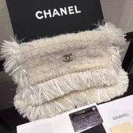 Chanel Tweed Clutch Bag 2017