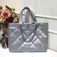 Chanel Hobo Handbag Silver F/W 2017