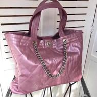 Chanel Hobo Handbag Pink F/W 2017