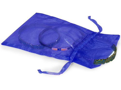 "4""x6"" Royal Blue Organza Sheer Gift Favor Bags - Pack of 144"