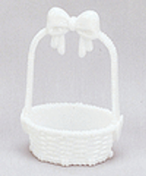 "3 1/4"" White Plastic Bow Tie Basket - Pack of 288 Pieces"