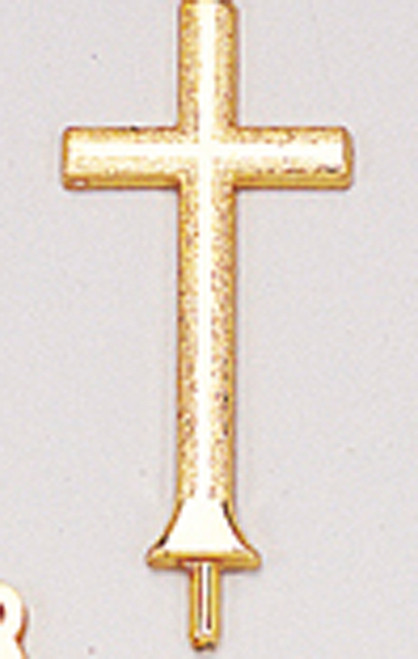 "2 1/4"" Gold Crucifix Charms - Pack of 144 Count"
