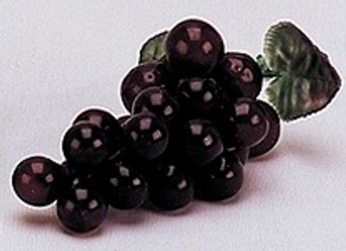 """4"""" Burgundy Artificial Grapes - Pack of 144 Plastic Grape Clusters"""
