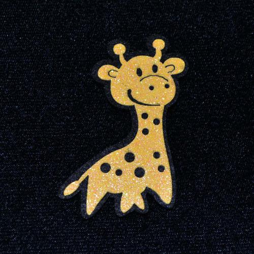 """2.5"""" Yellow Felt Giraffe - 12 Pieces"""