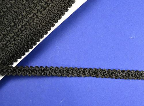 """1/2"""" x 15 Yards Black Gimp Braid - 5 Packs Gimp Braid Trim"""