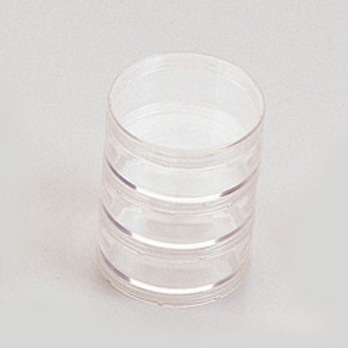 "2 3/4"" Diameter Clear Round Gift Favor Box - Pack of 144 Pieces"
