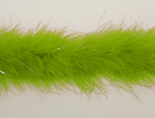 "1.5"" Wide 72"" (6 Feet) Long Apple Green Marabou Feather Boas - Pack of 10 1"