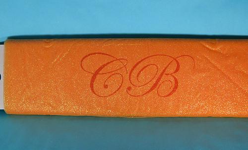 "54""x10 yards (30FT) Peach Glitter Tulle Bolt"