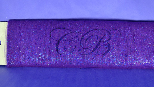"54""x15 yards (45FT) Purple Glitter Tulle Bolt"