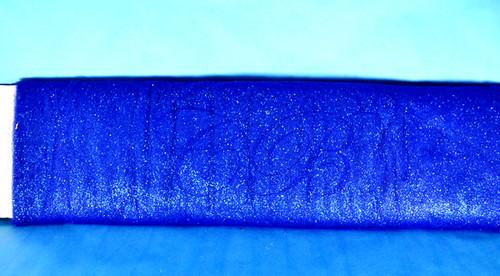 "54""x15 yards (45FT) Royal Blue Glitter Tulle Bolt"