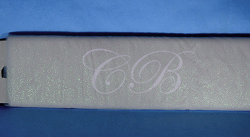 """54""""x15 yards (45FT) Silver Glitter Tulle Bolt"""
