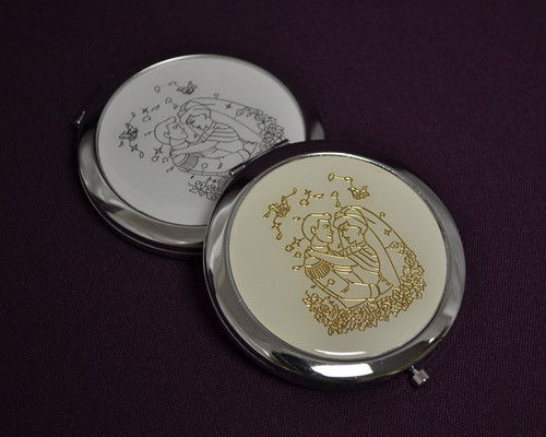 Compact Hand Mirrors Favors