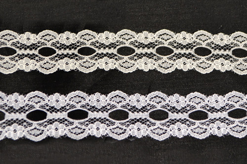 "1"" x 400 Yards Flat Lace Trim Roll"