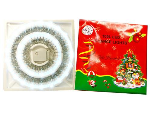 100-Count White Christmas LED String Lights