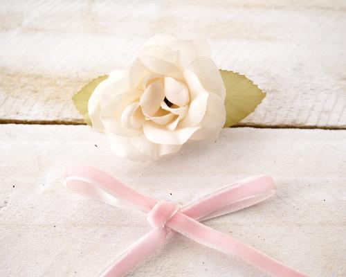 "1/4"" x 50 Yards Pink Velvet Ribbon"